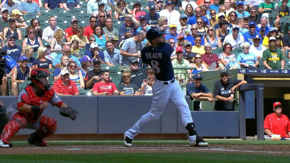 Braun's six-RBI game