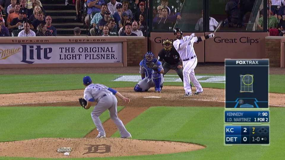 J.D. Martinez's solo homer