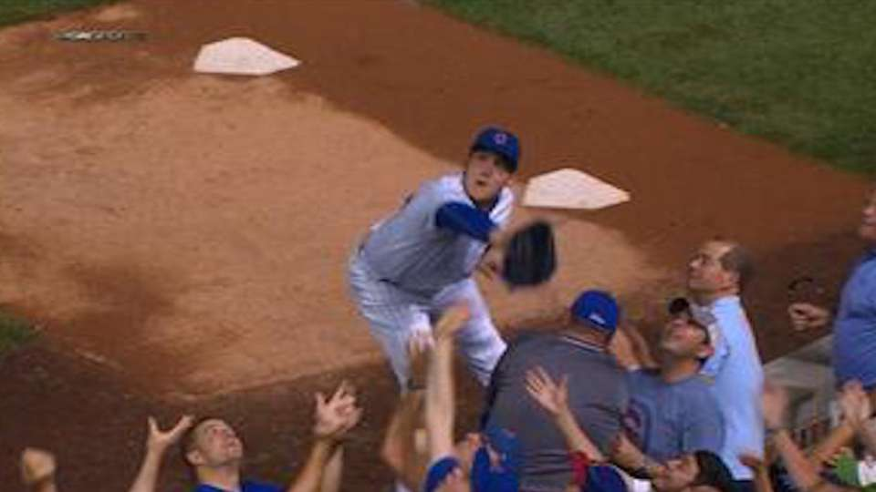 Must C: Rizzo's catch on wall