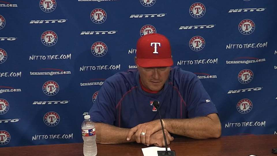 Banister on win over A's