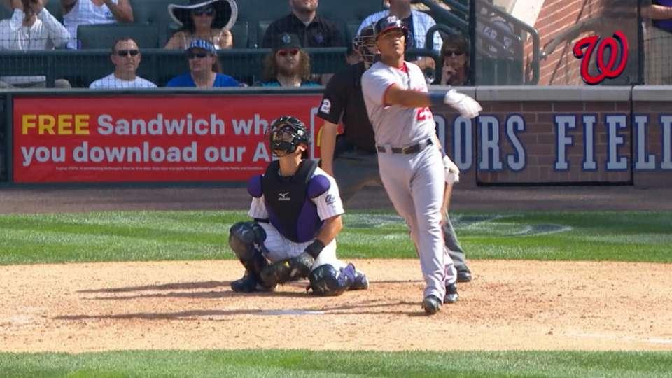 Severino pega 1er HR en la MLB