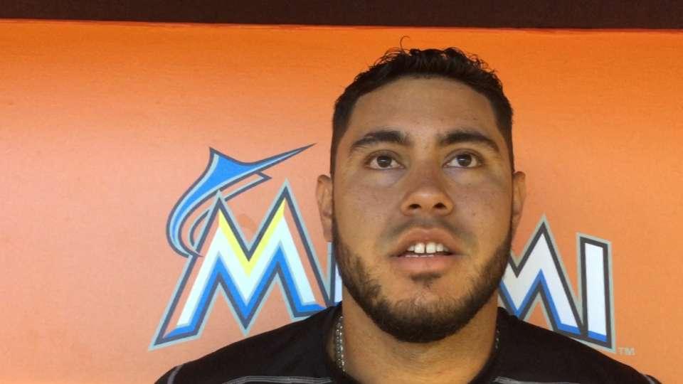 Omar Narvaez sobre su debut