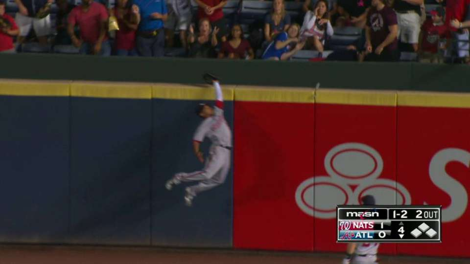 Revere leaps to rob homer