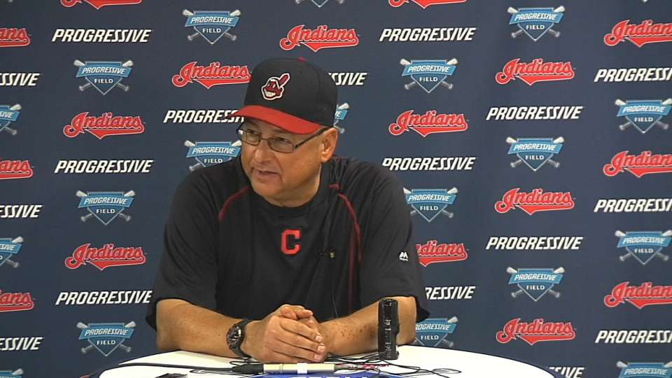 Francona on walk-off win