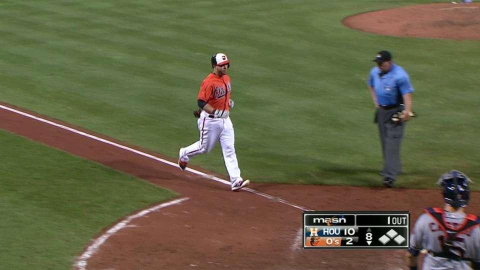 Pearce's solo home run