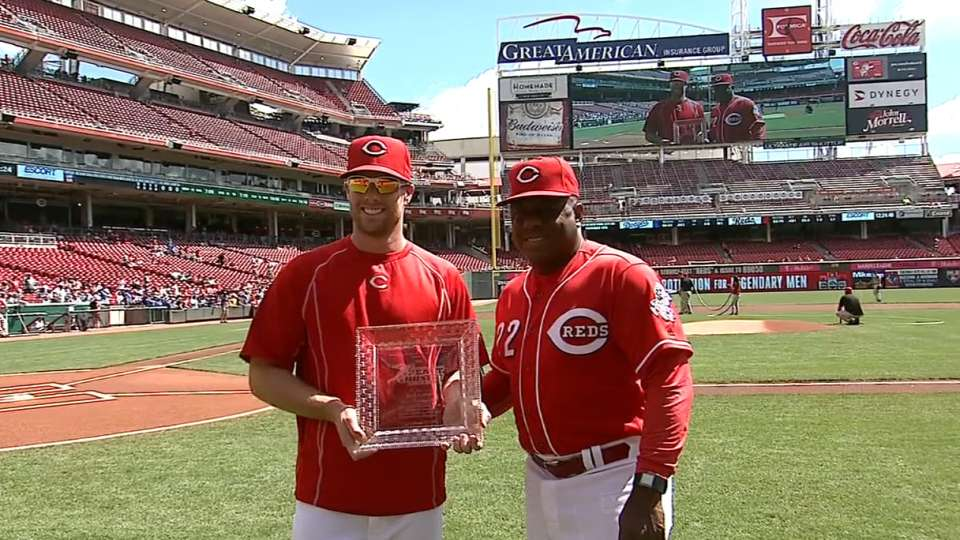 Cozart receives Heart and Hustle