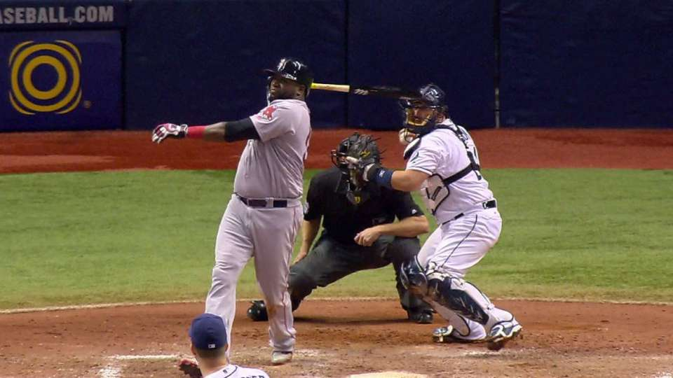 Rays' unusual double play