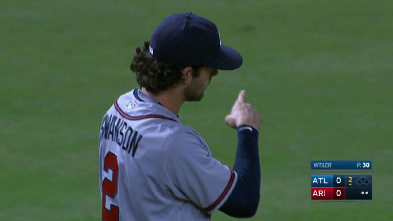 Be Mesmerized By The Majesty With Which Dansby Swanson Fielded This Grounder