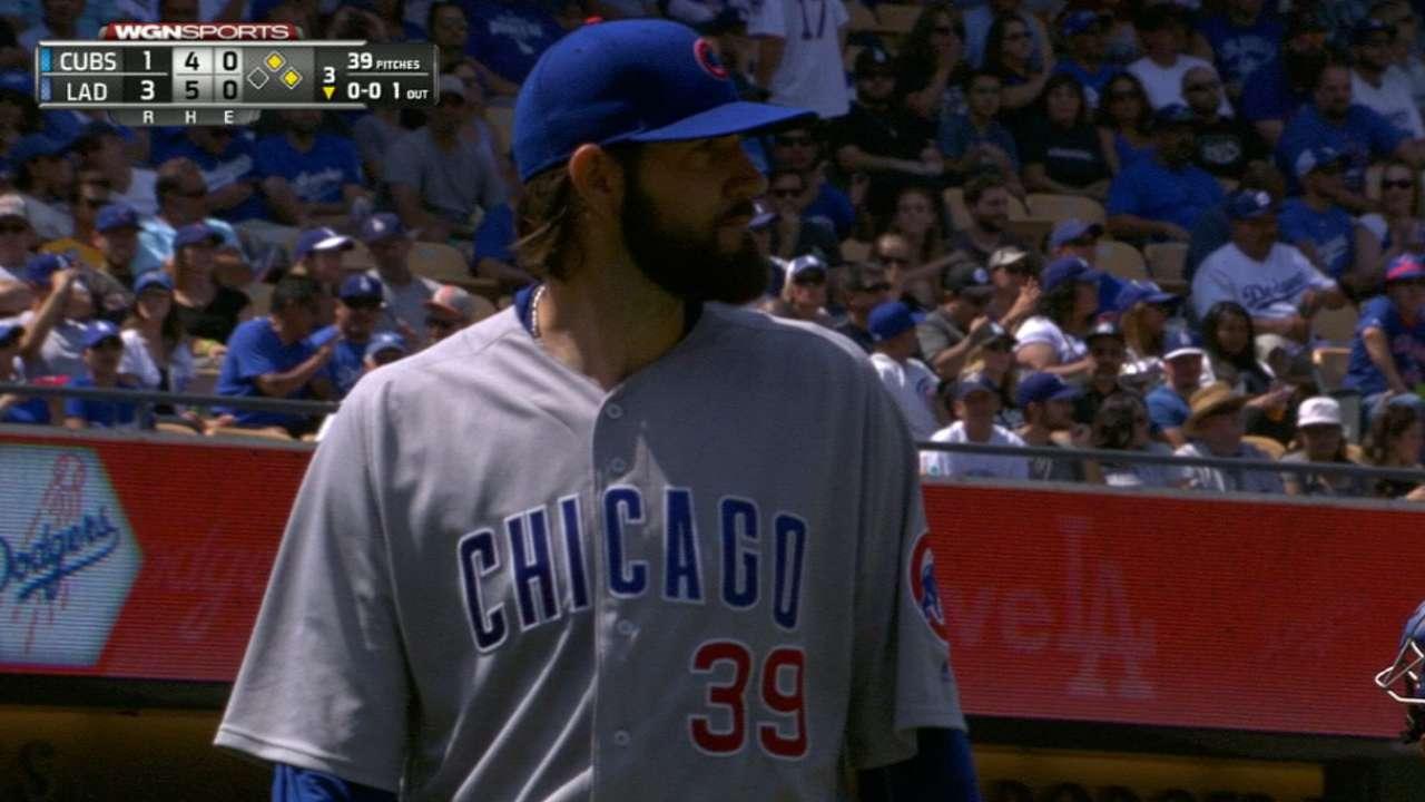 af0cbe33aae Cubs move up Jason Hammel in starting rotation