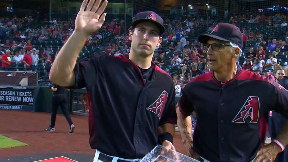 Goldy wins Heart and Hustle