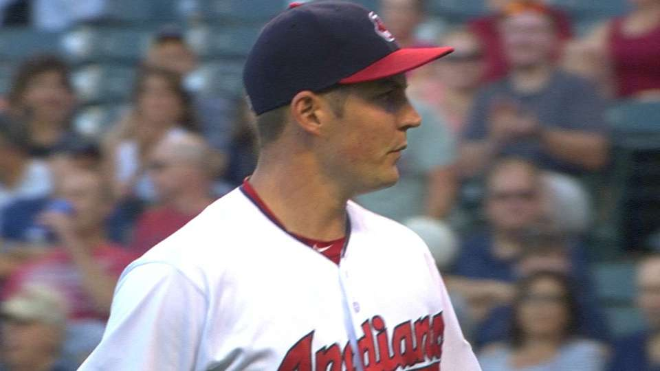 Bauer pitches six scoreless