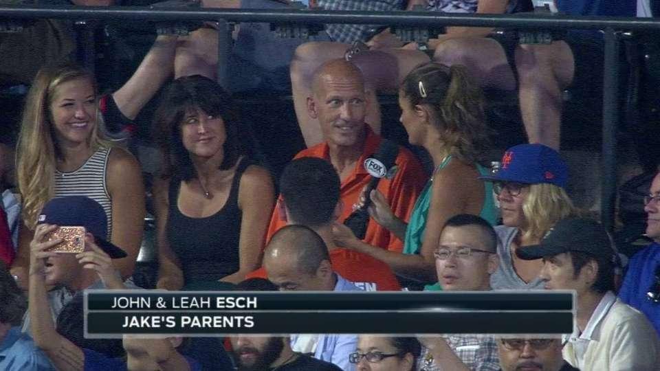 Esch family on Jake's debut