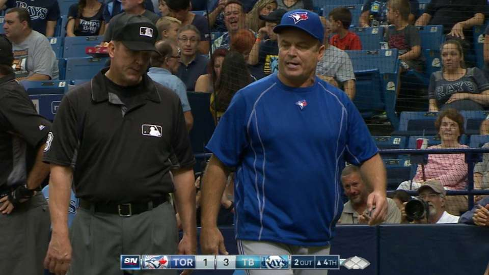 Gibbons ejected in the 4th