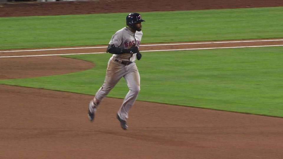 Bradley Jr.'s two-run smash