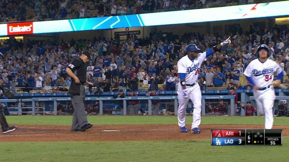Puig's solo home run