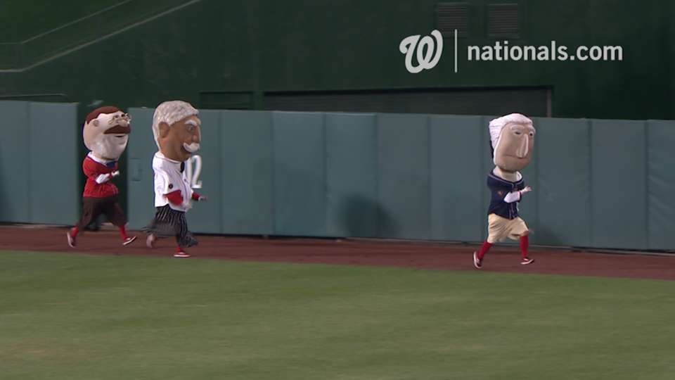September 8 Presidents Race
