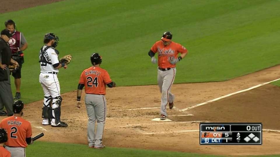 Wieters' two-run homer