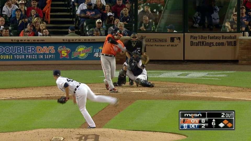 Wieters' three-run home run