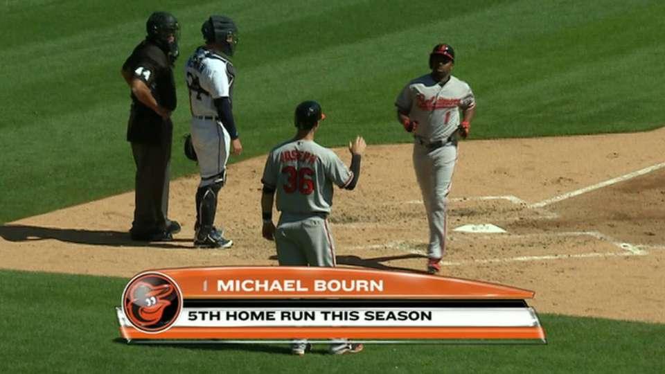 Bourn's two-run home run