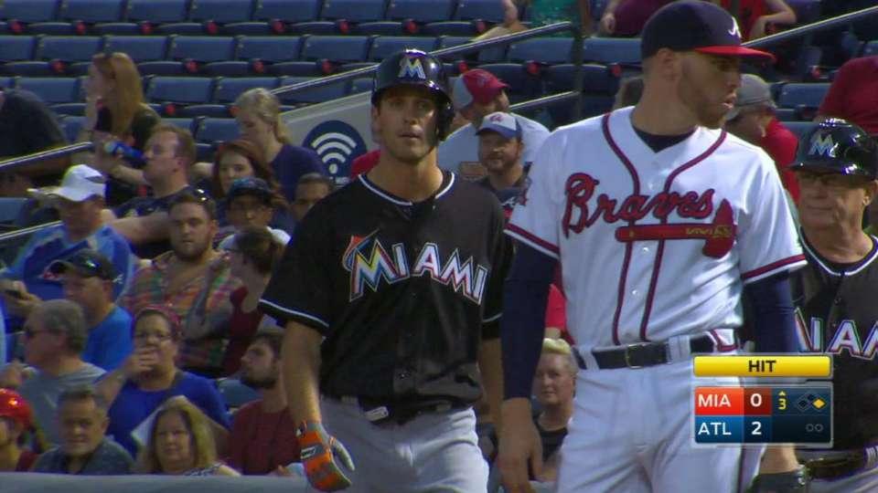 Esch's first MLB hit