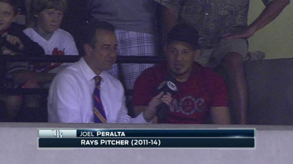 Peralta on possible retirement