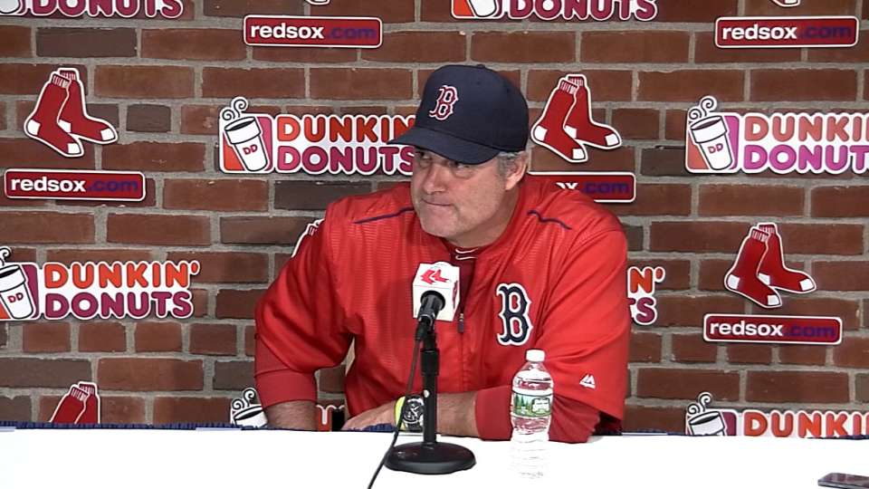 Farrell on 7-4 win over Yankees