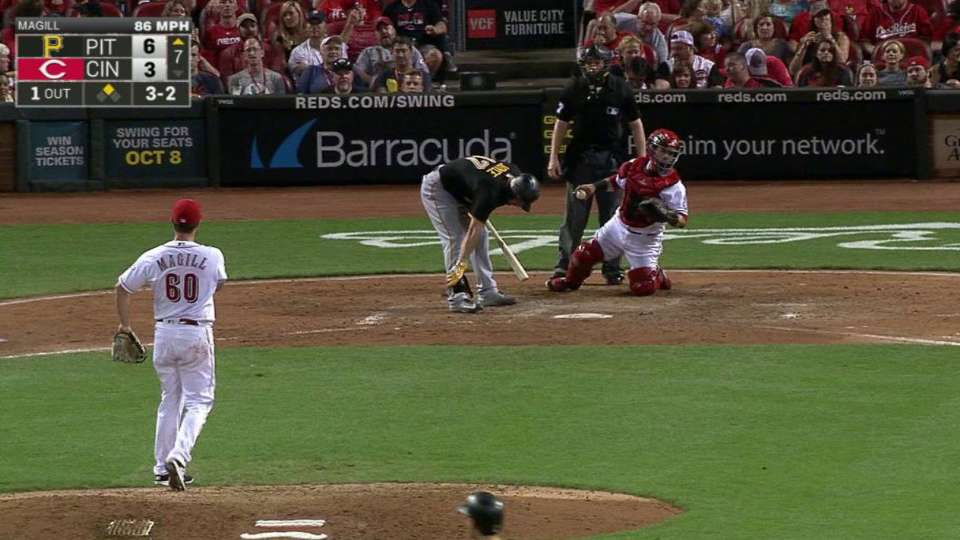 Joyce nets 21st pinch-hit walk