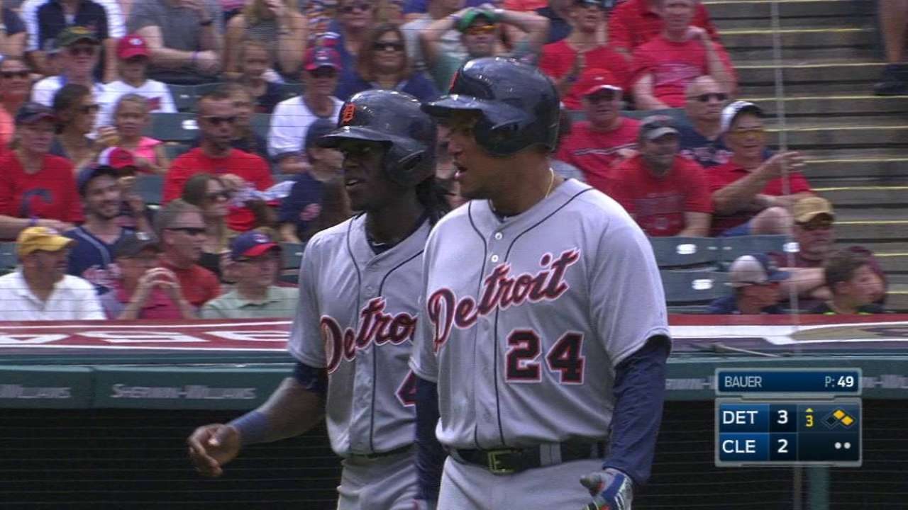 Tigers use HBPs as motivation vs. Indians  81dd87503