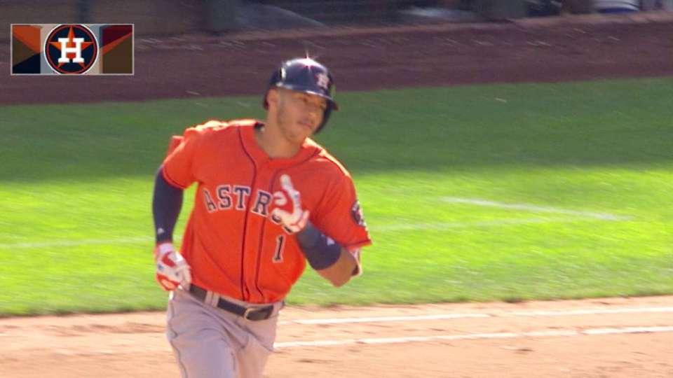 Correa's long home run