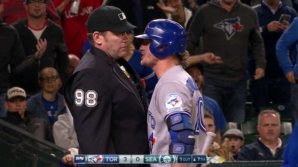Donaldson gets ejected
