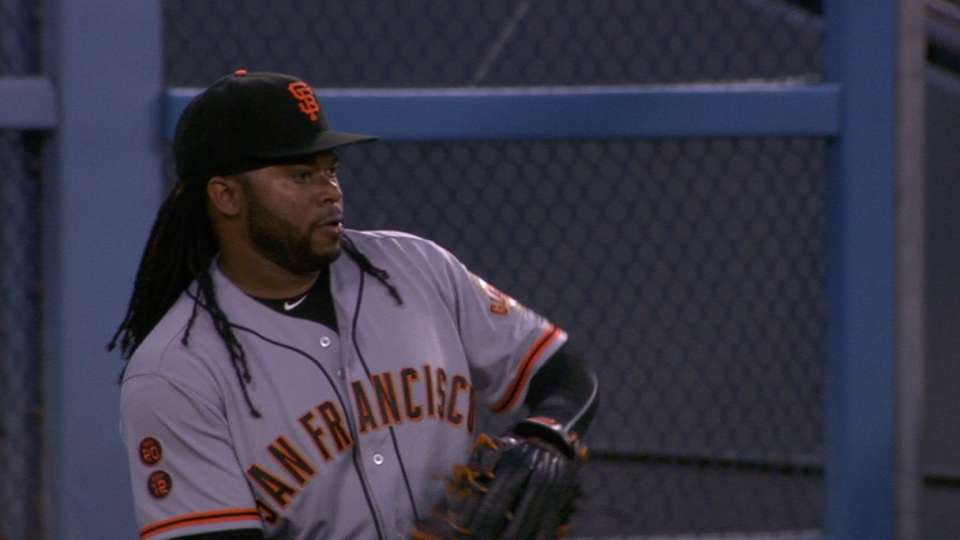 Cueto fans six before early exit
