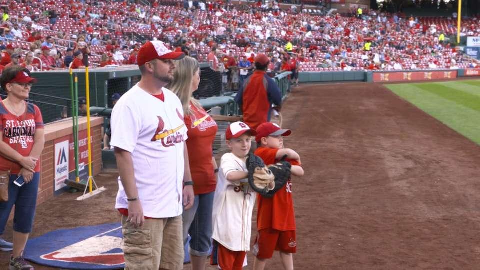 Veteran gets surprise at Busch