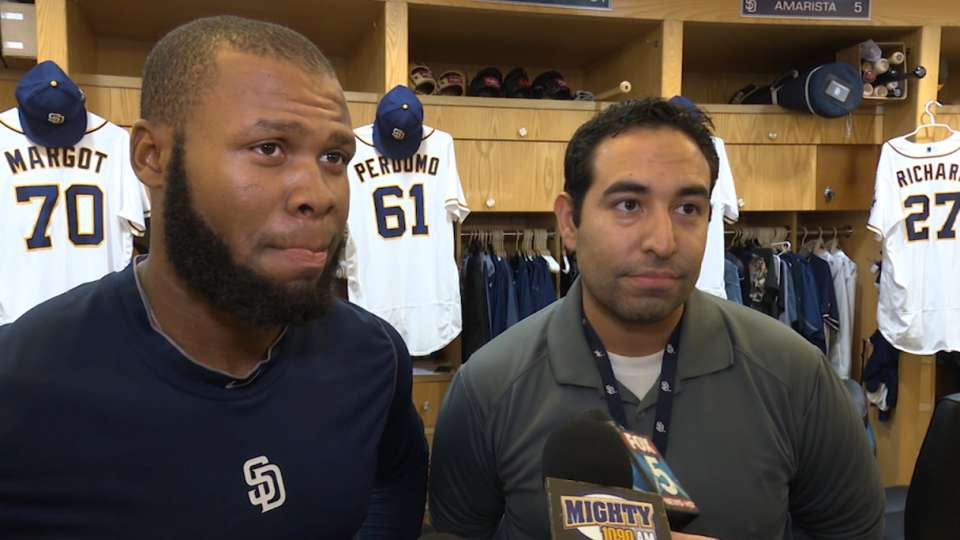 Manuel Margot on his callup