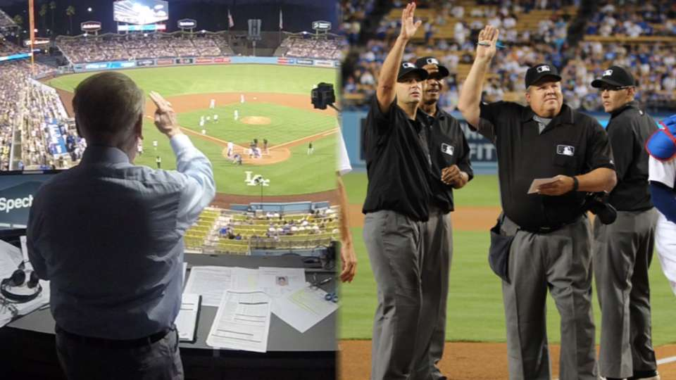 Umpires on Vin Scully's impact