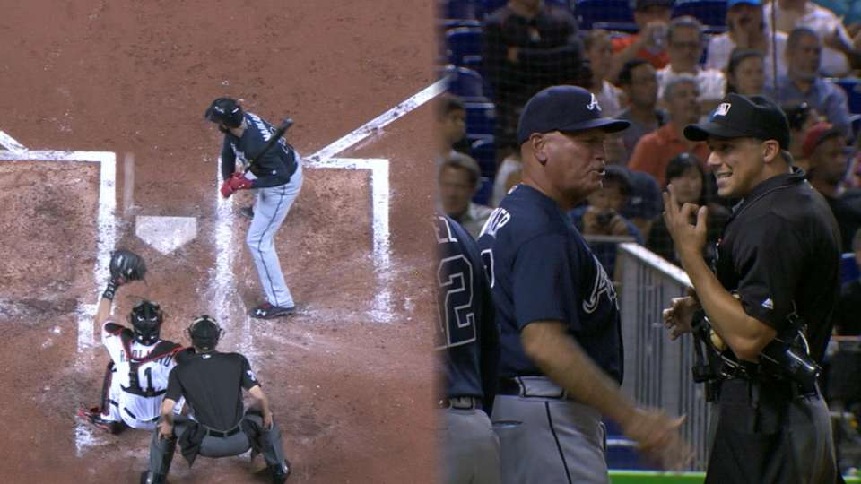 Kemp's ejection