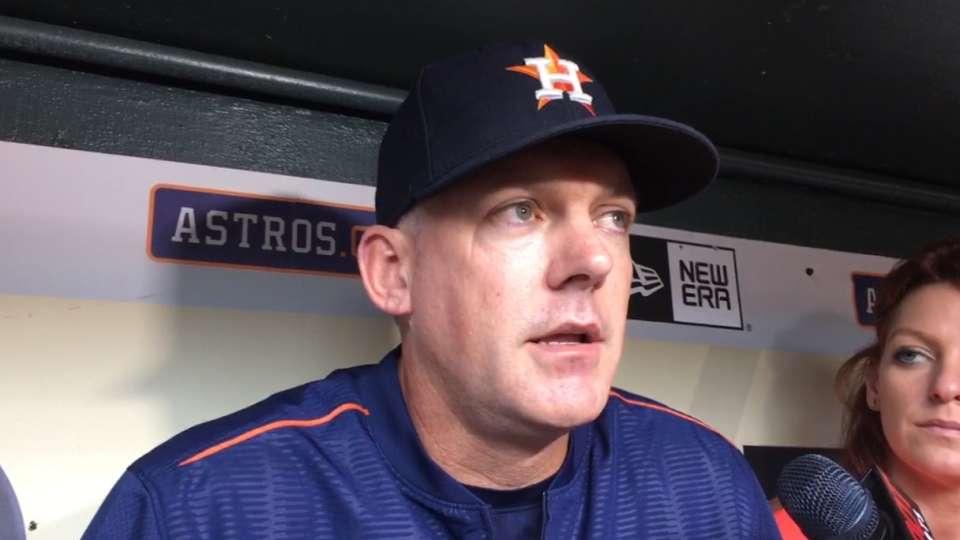 Astros on Jose Fernandez tragedy
