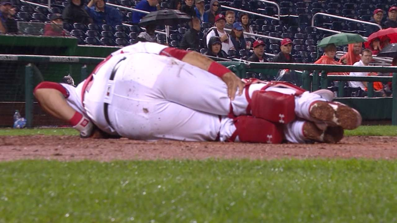 Wilson Ramos Remaining Positive After Injury Sgaguilar Javier Electrical Current And Electric Circuits Mlb Now On