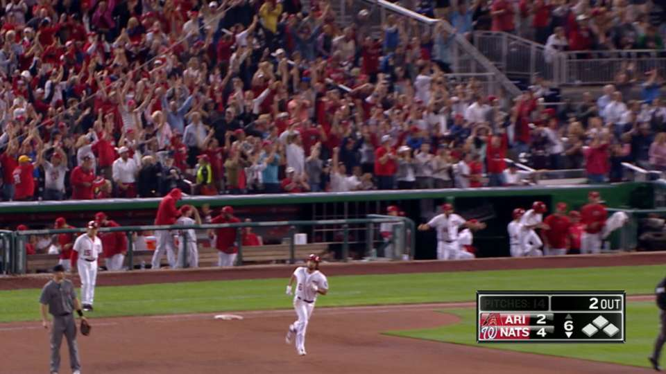 HR de tres carreras de Rendon
