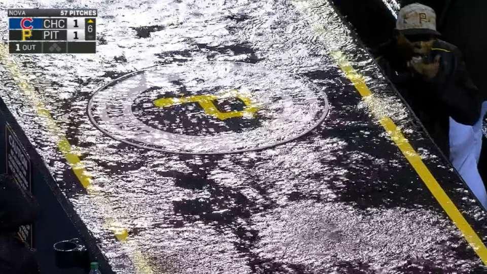 Rain forces rare MLB tie