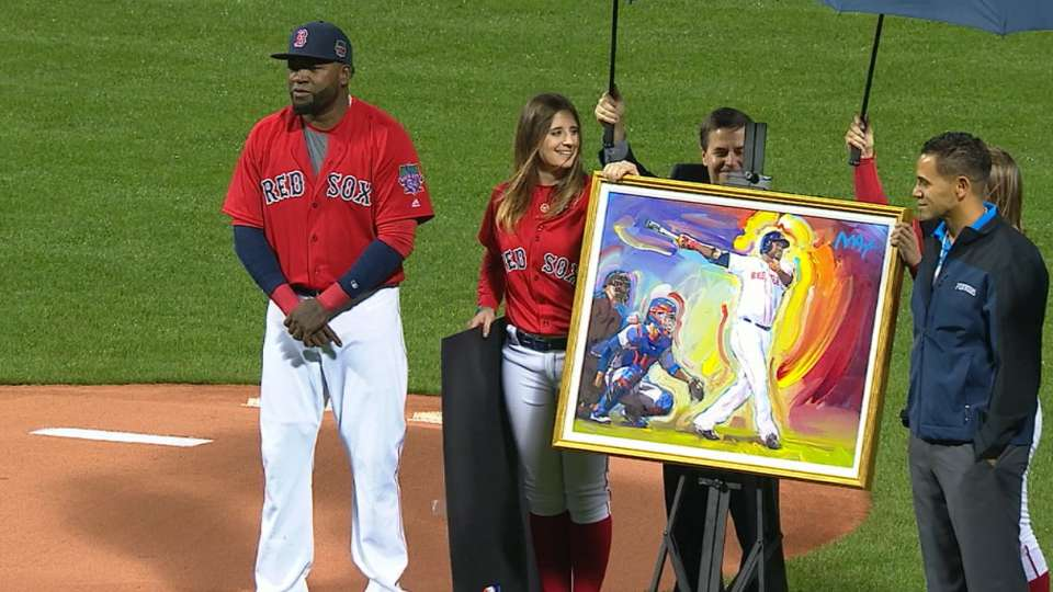 Red Sox honor Papi's charity