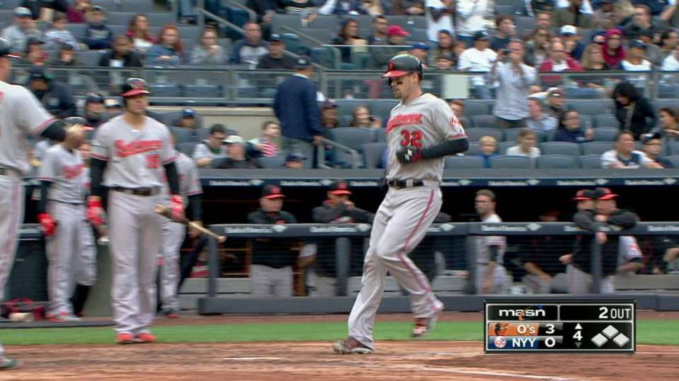 Wieters' two-run tater to right