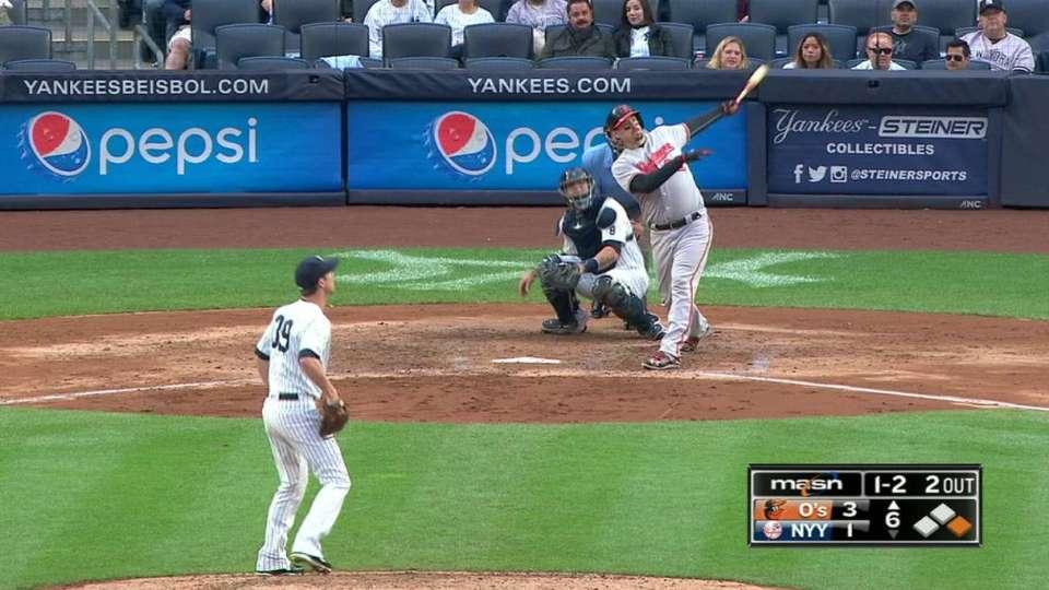 Wieters' second two-run homer