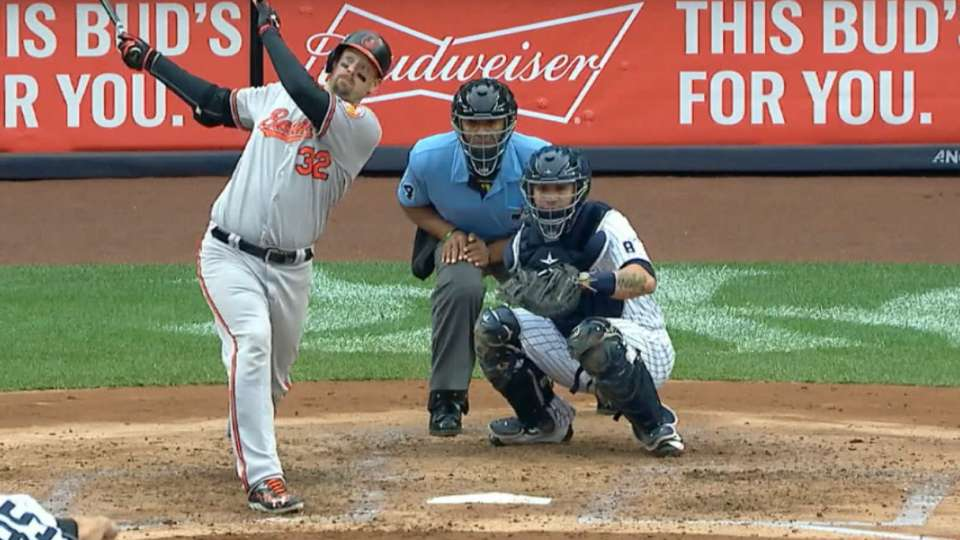 Wieters pega su 2do HR