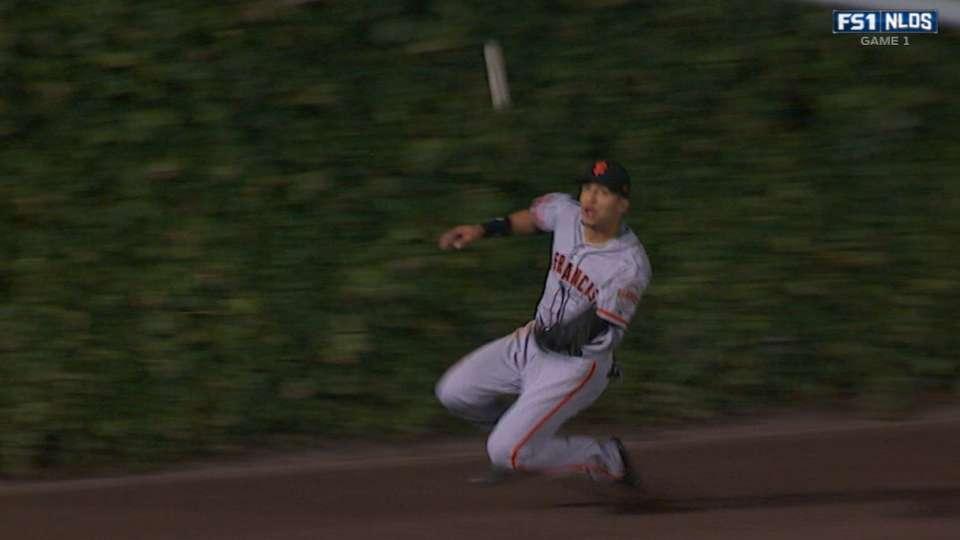 Tremenda atrapada de Hernandez