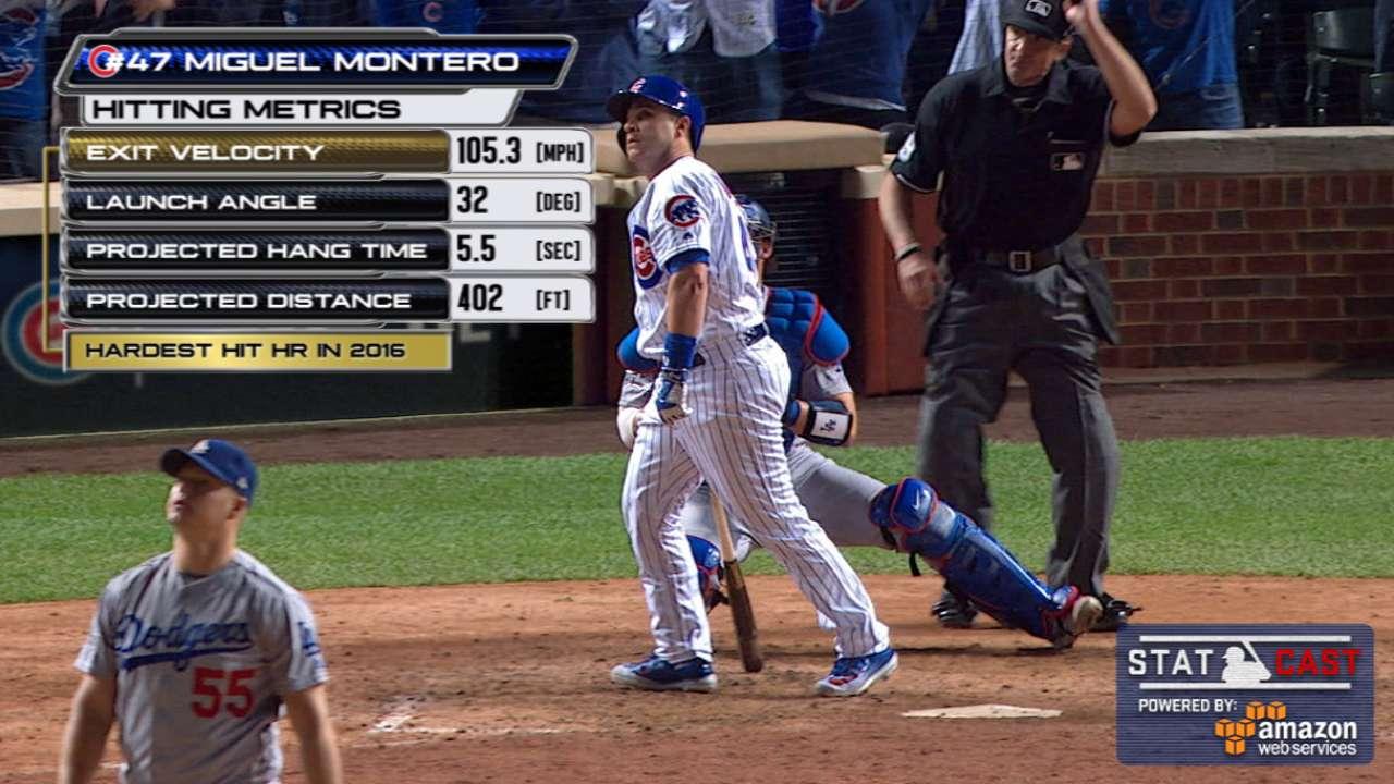 Miguel Montero hits pinch-hit grand slam  850755647dec7
