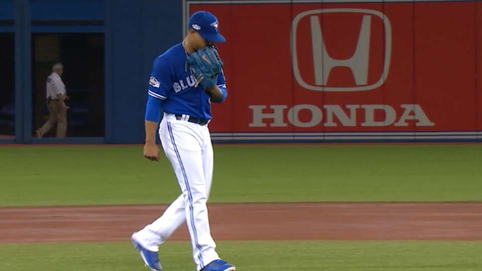 Stroman on pitching in big games