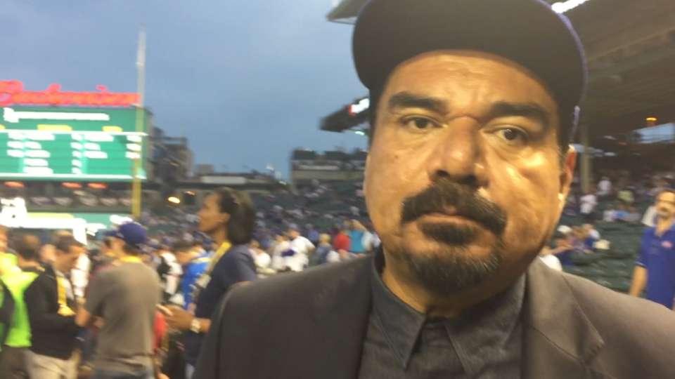 George Lopez apoyando a Dodgers