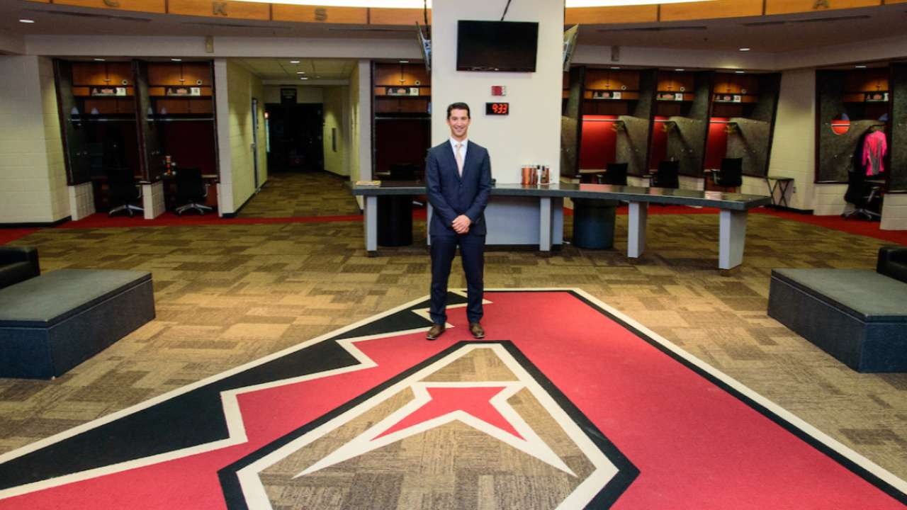 D Backs Introduce General Manager Mike Hazen Arizona Diamondbacks