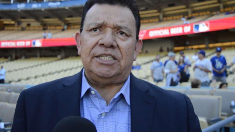 Valenzuela sobre los Dodgers