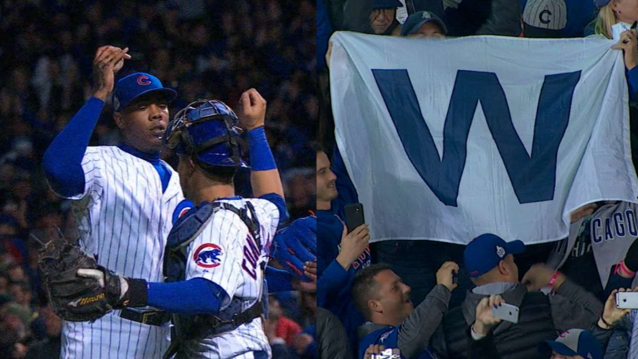a862dc1187 Wrigley sings  Go Cubs Go  after World Series Game 5